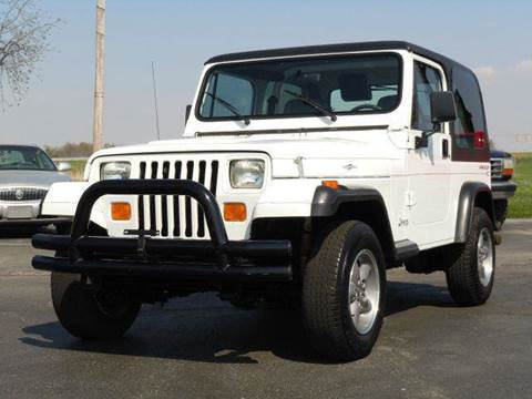 1995 Jeep Wrangler for sale at Tonys Pre Owned Auto Sales in Kokomo IN