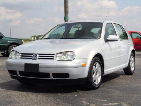 2000 Volkswagen Golf for sale at Tonys Pre Owned Auto Sales in Kokomo IN