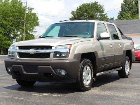 2004 Chevrolet Avalanche for sale at Tonys Pre Owned Auto Sales in Kokomo IN