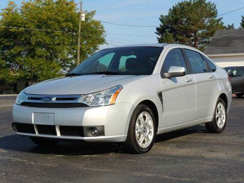 2008 Ford Focus for sale at Tonys Pre Owned Auto Sales in Kokomo IN