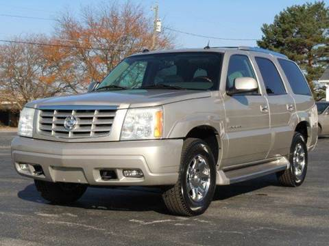 2005 Cadillac Escalade for sale at Tonys Pre Owned Auto Sales in Kokomo IN