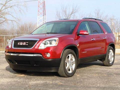 2008 GMC Acadia for sale at Tonys Pre Owned Auto Sales in Kokomo IN