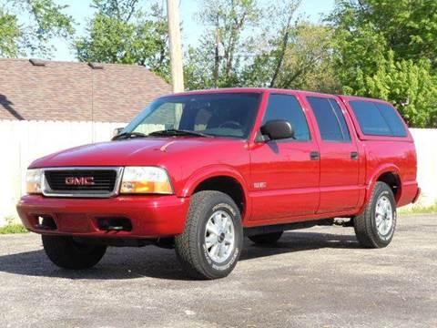 2002 GMC Sonoma for sale at Tonys Pre Owned Auto Sales in Kokomo IN
