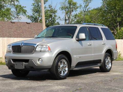 2004 Lincoln Aviator for sale at Tonys Pre Owned Auto Sales in Kokomo IN
