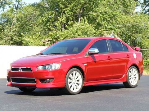 2010 Mitsubishi Lancer for sale at Tonys Pre Owned Auto Sales in Kokomo IN