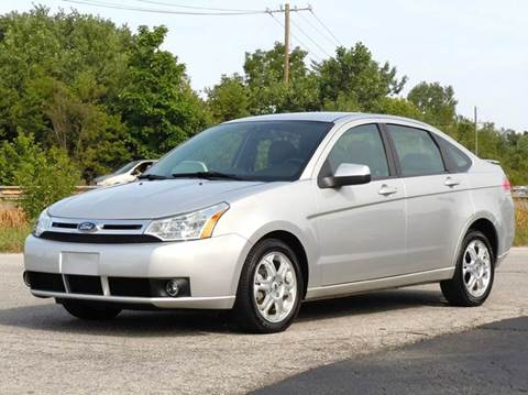 2009 Ford Focus for sale at Tonys Pre Owned Auto Sales in Kokomo IN