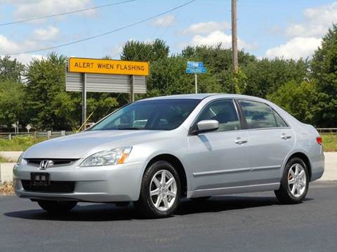 2003 Honda Accord for sale at Tonys Pre Owned Auto Sales in Kokomo IN