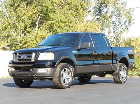 2004 Ford F-150 for sale at Tonys Pre Owned Auto Sales in Kokomo IN