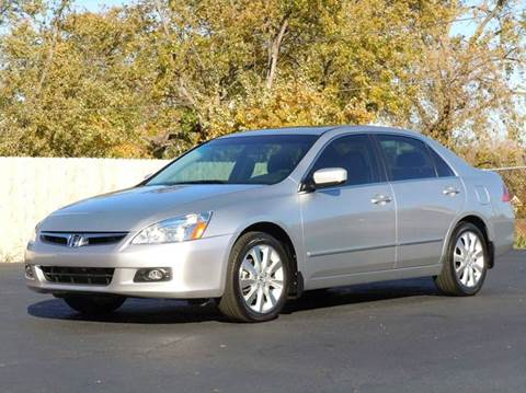2007 Honda Accord for sale at Tonys Pre Owned Auto Sales in Kokomo IN