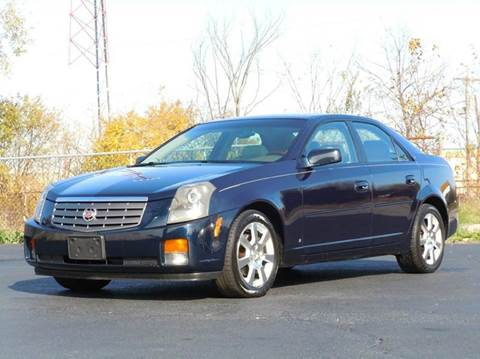 2006 Cadillac CTS for sale at Tonys Pre Owned Auto Sales in Kokomo IN