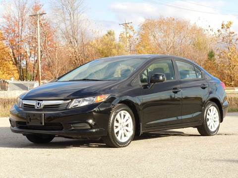 2012 Honda Civic for sale at Tonys Pre Owned Auto Sales in Kokomo IN