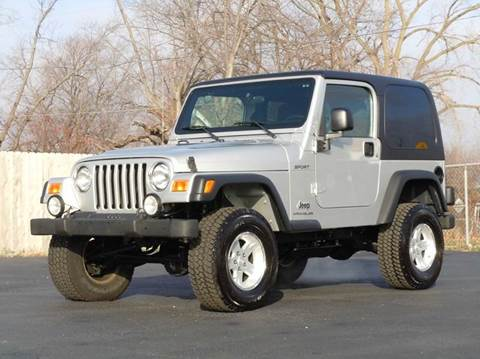 2004 Jeep Wrangler for sale at Tonys Pre Owned Auto Sales in Kokomo IN