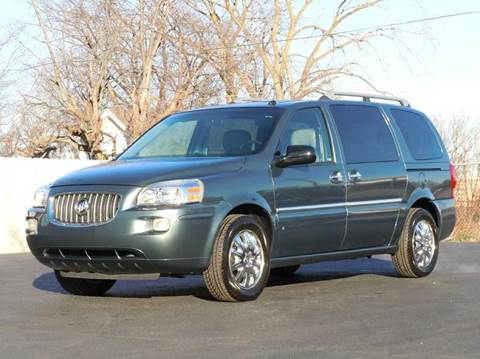 2006 Buick Terraza for sale at Tonys Pre Owned Auto Sales in Kokomo IN