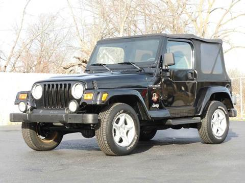 2001 Jeep Wrangler for sale at Tonys Pre Owned Auto Sales in Kokomo IN