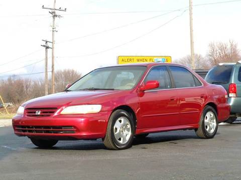 2001 Honda Accord for sale at Tonys Pre Owned Auto Sales in Kokomo IN