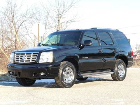 2003 Cadillac Escalade for sale at Tonys Pre Owned Auto Sales in Kokomo IN