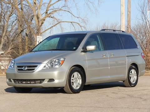 2007 Honda Odyssey for sale at Tonys Pre Owned Auto Sales in Kokomo IN