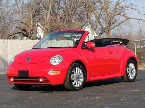 2004 Volkswagen New Beetle for sale at Tonys Pre Owned Auto Sales in Kokomo IN