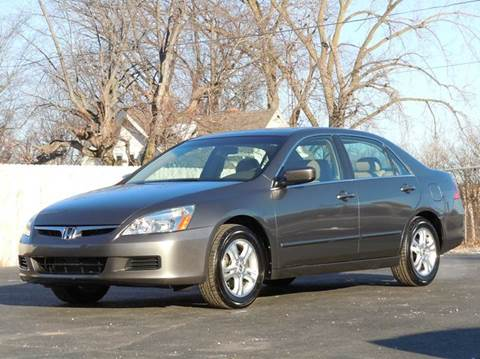 2006 Honda Accord for sale at Tonys Pre Owned Auto Sales in Kokomo IN