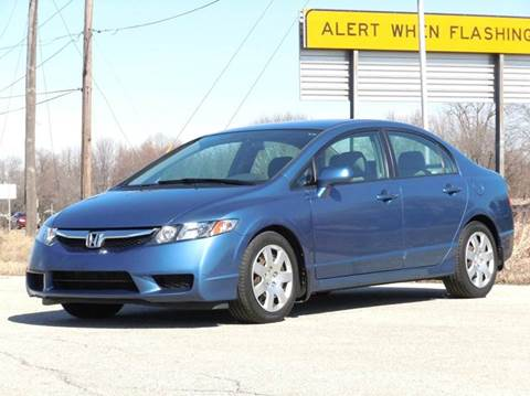 2009 Honda Civic for sale at Tonys Pre Owned Auto Sales in Kokomo IN