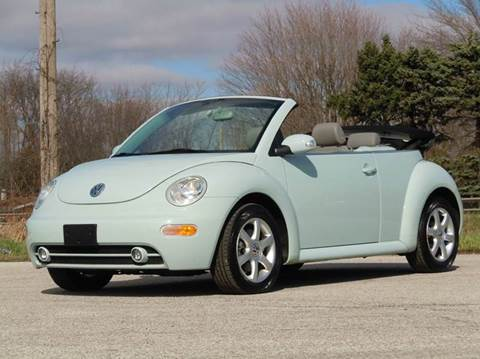 2005 Volkswagen New Beetle for sale at Tonys Pre Owned Auto Sales in Kokomo IN