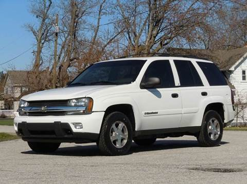 2003 Chevrolet TrailBlazer for sale at Tonys Pre Owned Auto Sales in Kokomo IN
