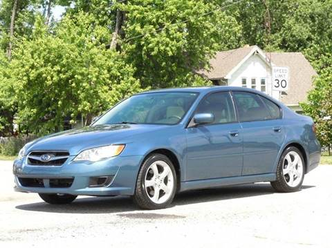 2008 Subaru Legacy for sale at Tonys Pre Owned Auto Sales in Kokomo IN