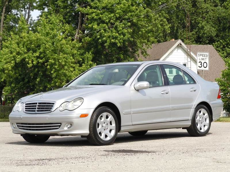 2005 Mercedes-Benz C-Class for sale at Tonys Pre Owned Auto Sales in Kokomo IN