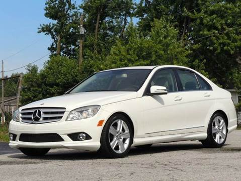 2010 Mercedes-Benz C-Class for sale at Tonys Pre Owned Auto Sales in Kokomo IN