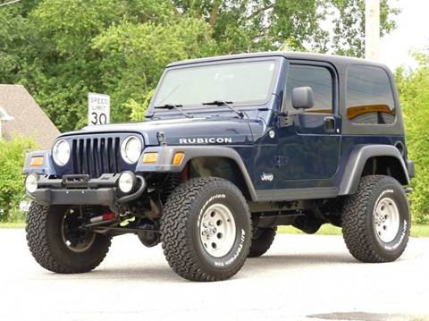 2006 Jeep Wrangler for sale at Tonys Pre Owned Auto Sales in Kokomo IN