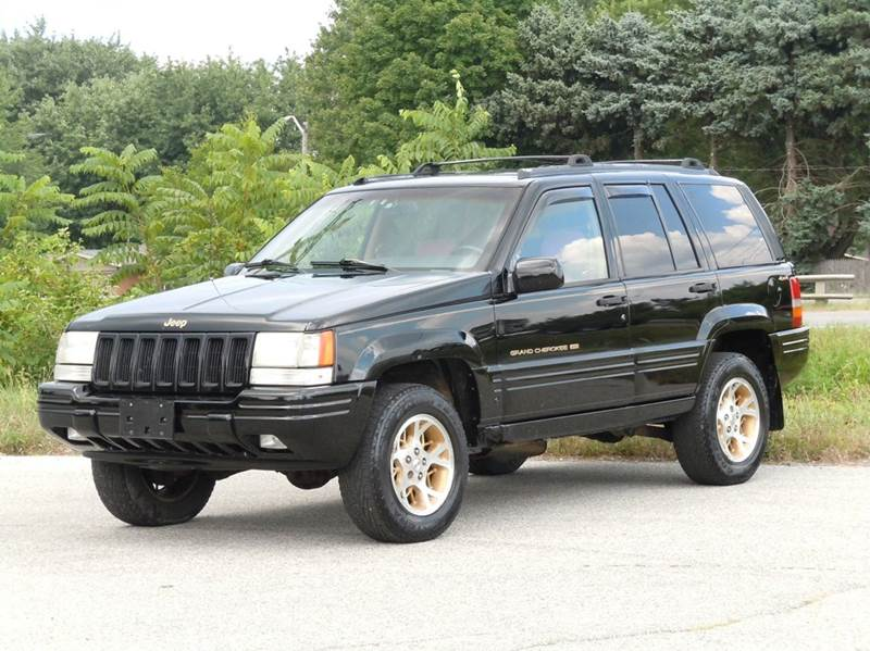 1996 Jeep Grand Cherokee For Sale At Tonys Pre Owned Auto Sales In Kokomo IN