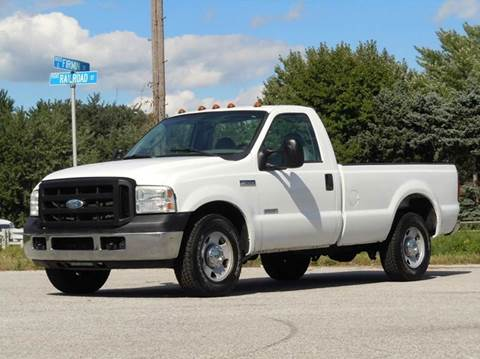 2006 Ford F-350 Super Duty for sale at Tonys Pre Owned Auto Sales in Kokomo IN