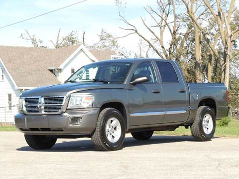 2008 Dodge Dakota for sale at Tonys Pre Owned Auto Sales in Kokomo IN