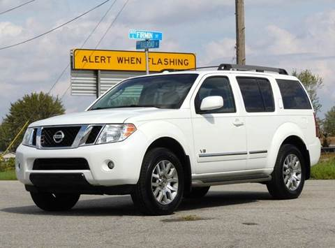 2008 Nissan Pathfinder for sale at Tonys Pre Owned Auto Sales in Kokomo IN