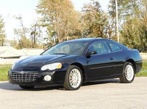 2005 Chrysler Sebring for sale at Tonys Pre Owned Auto Sales in Kokomo IN