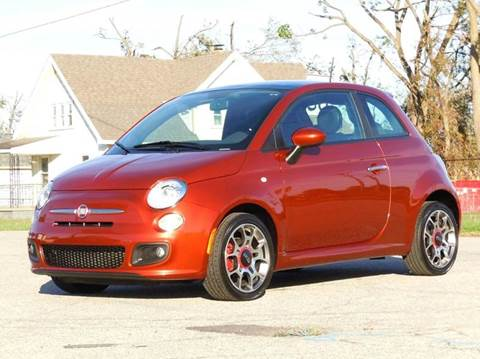 2013 FIAT 500 for sale at Tonys Pre Owned Auto Sales in Kokomo IN