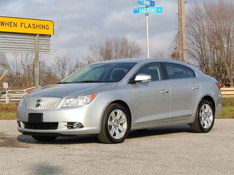 2010 Buick LaCrosse for sale at Tonys Pre Owned Auto Sales in Kokomo IN