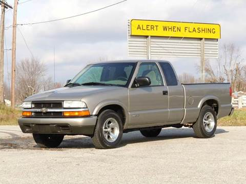 2002 Chevrolet S-10 for sale at Tonys Pre Owned Auto Sales in Kokomo IN