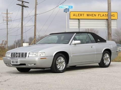 2001 Cadillac Eldorado for sale at Tonys Pre Owned Auto Sales in Kokomo IN