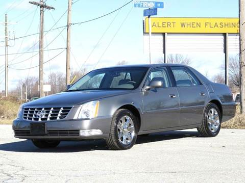 2007 Cadillac DTS for sale at Tonys Pre Owned Auto Sales in Kokomo IN