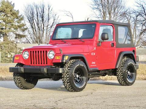 2005 Jeep Wrangler for sale at Tonys Pre Owned Auto Sales in Kokomo IN