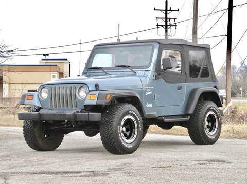 1997 Jeep Wrangler for sale at Tonys Pre Owned Auto Sales in Kokomo IN
