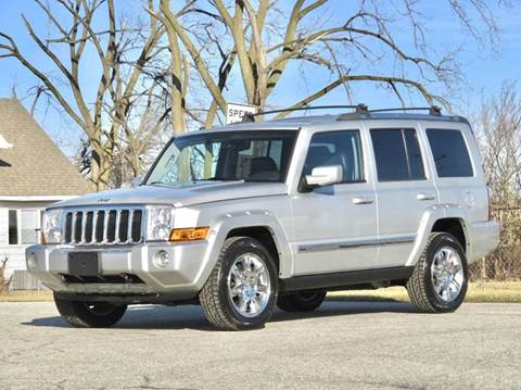 2010 Jeep Commander for sale at Tonys Pre Owned Auto Sales in Kokomo IN