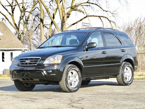 2007 Kia Sorento for sale at Tonys Pre Owned Auto Sales in Kokomo IN