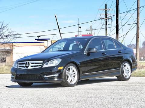 2012 Mercedes-Benz C-Class for sale at Tonys Pre Owned Auto Sales in Kokomo IN