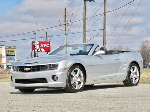 2011 Chevrolet Camaro for sale at Tonys Pre Owned Auto Sales in Kokomo IN