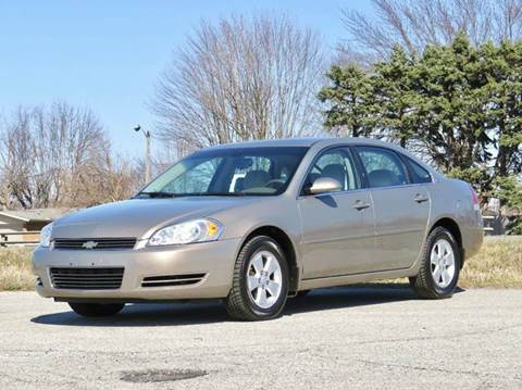 2007 Chevrolet Impala for sale at Tonys Pre Owned Auto Sales in Kokomo IN