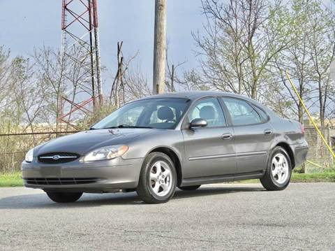 2003 Ford Taurus for sale at Tonys Pre Owned Auto Sales in Kokomo IN