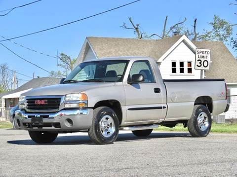 2004 GMC Sierra 1500 for sale at Tonys Pre Owned Auto Sales in Kokomo IN