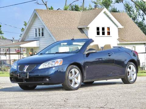 2009 Pontiac G6 for sale at Tonys Pre Owned Auto Sales in Kokomo IN